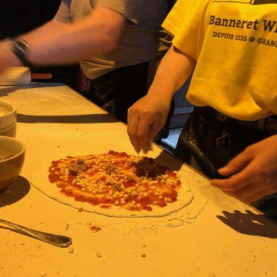 Pizzas Folie 2020 - Banneret Wisard Jura bernois